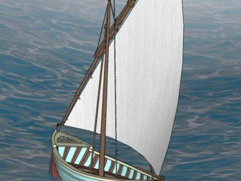 Almejera 3D boat