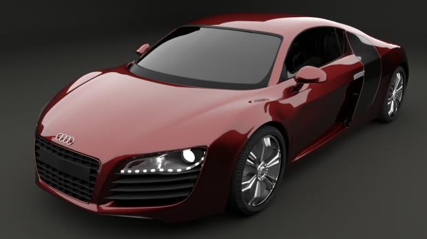 Audi R8 Downloadfree3d Com