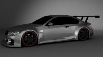 BMW M3 GTS 3D model