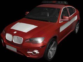 BMW X6 3D model