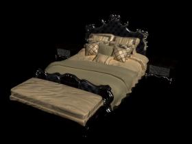 Bed 3d max skp model