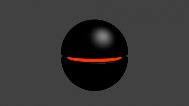 Black Floating Robot Downloadfree3d Com