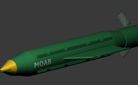 Bomb GBU-43B MOAB
