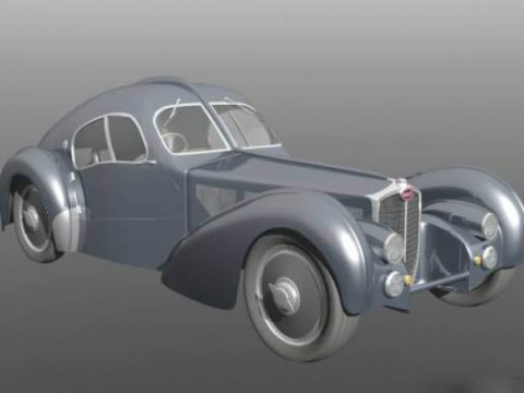 Bugatti 1938 3D model