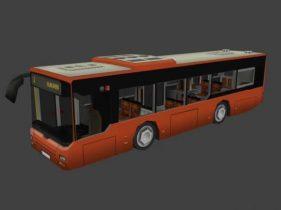 Bus 3D model