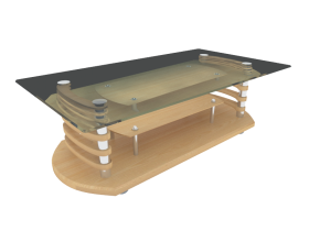 Coffee Table 3ds max model