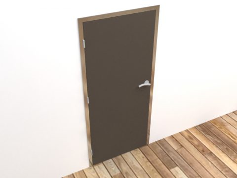 Door max 3d model