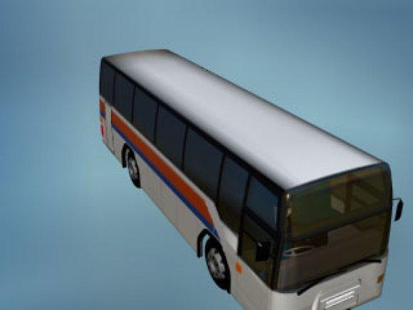 Extern Bus 3D model