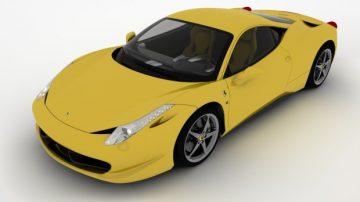 Ferrari 458 3D model