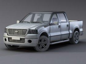 Ford F-150 Raptor 3D model