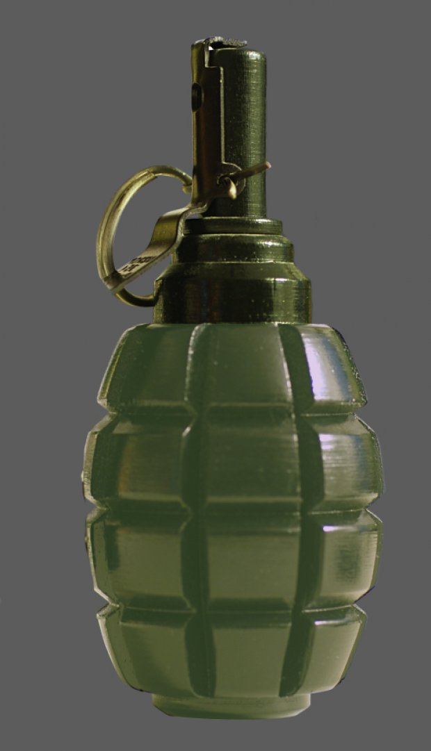 Hand Grenade Free 3d Models
