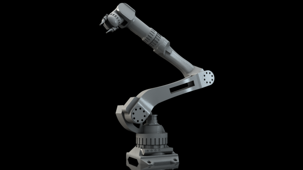 Industrial Robot Arm Downloadfree3d Com
