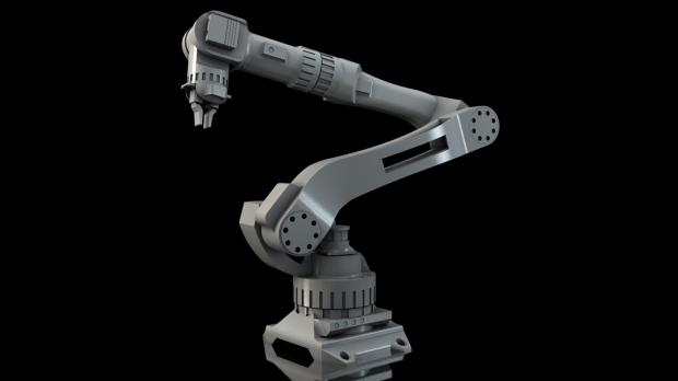 Industrial Robot Arm Downloadfree3d Com