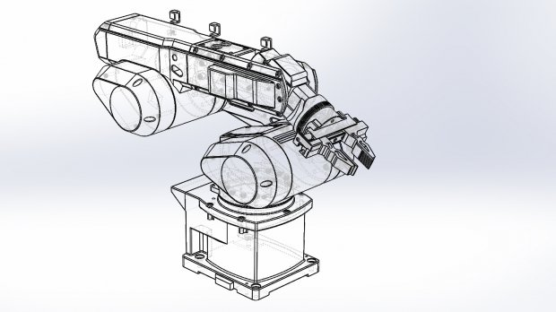 Industry Robot Arm Mk4 Downloadfree3d Com