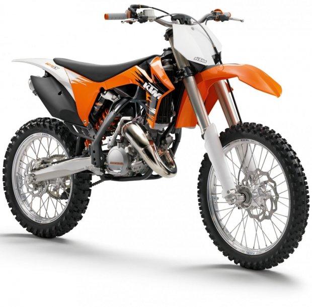 KTM 125 motorbike  3D model
