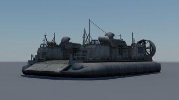 LCAC-27 Hovercraft