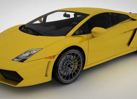 Lamborghini Gallardo 3D model