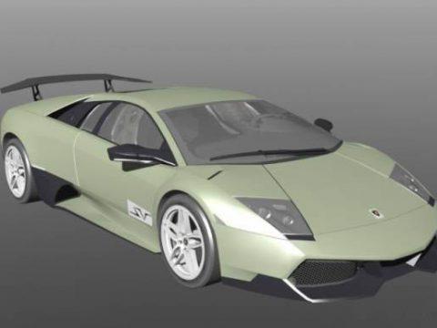 Lamborghini Murcielago LP670 3D model