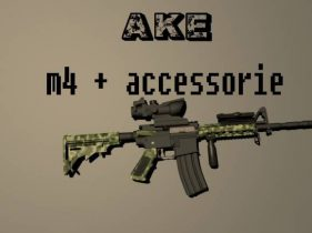 M4 + accessorie