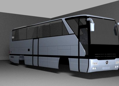 Mercedes Benz O403 3D model