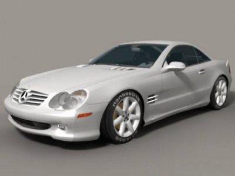 Mercedes Benz SL 500 3D model