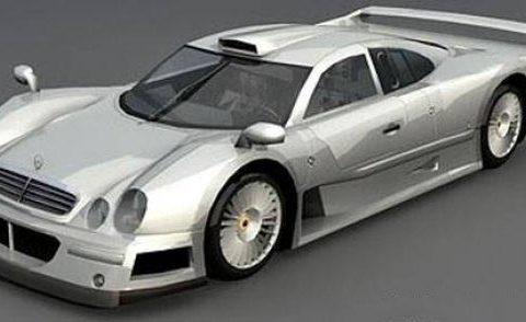 Mercedes CLK GTR 3D model