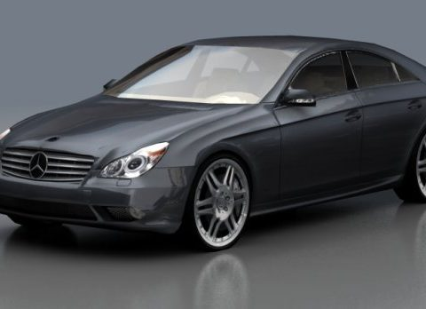 Mercedes CLS 3D model