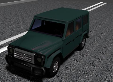 Mercedes G class 3D model