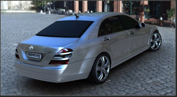 Mercedes S55 | Free 3D models