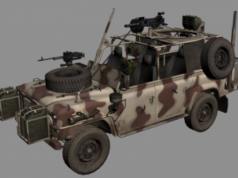 Military Offroad Special 3D model