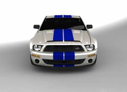 Mustang GT500kr