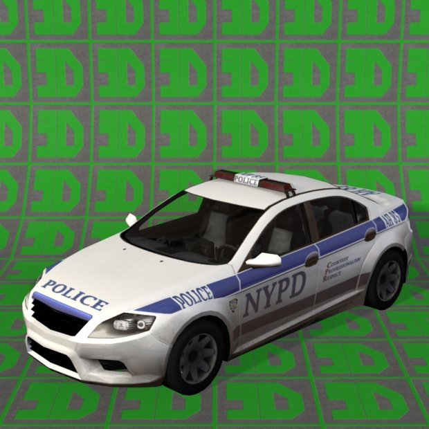 Nypd Ford Mondeo Downloadfree3d Com