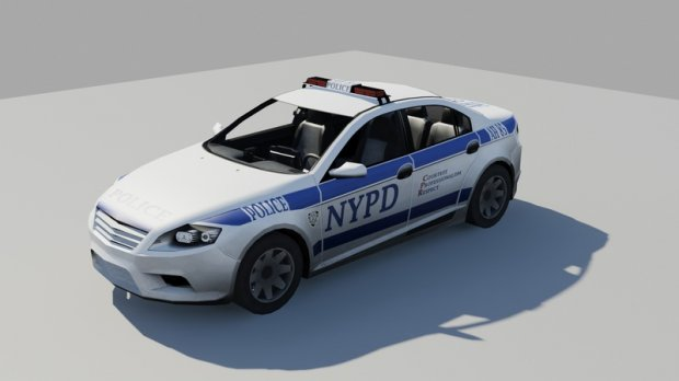 Nypd Ford Mondeo Free 3d Models