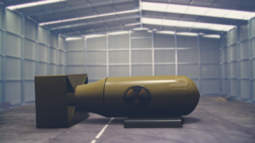 Nuke in Hangar