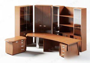 Office Furniture Set 3d model