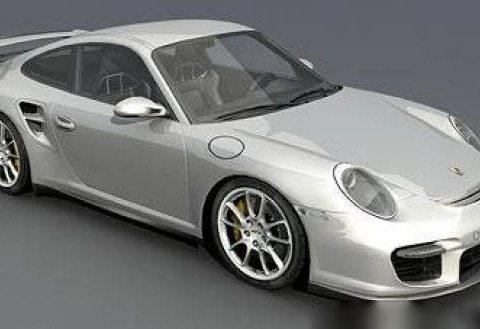 Porsche 911 GT2 3D model
