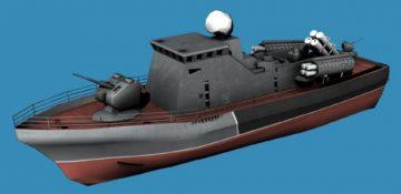 Project 206MR Vikhr IFQ 3D model