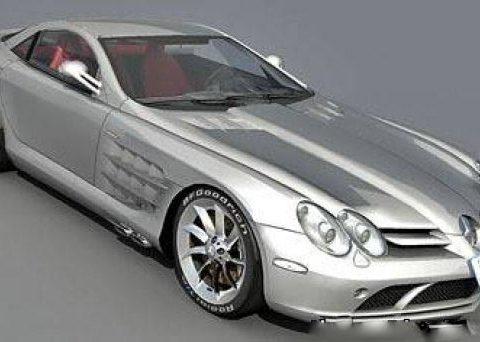 SLR McLaren 3D model