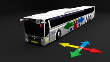 Scania Metrolink 3D model