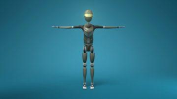 Sci-Fi Male Robot