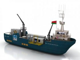 Ship - boat 3D model