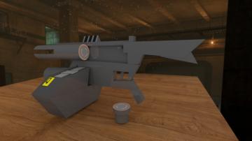 Unturned-style AR2 pulse rifle
