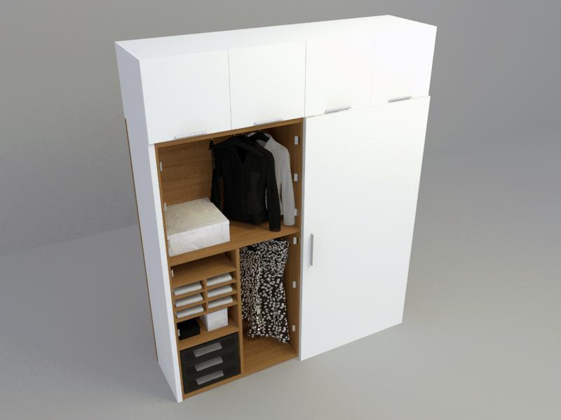 Wardrobe 3d max model