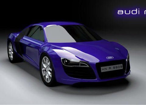 Audi r8 car 3D model