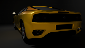 Ferrari 360 3D model