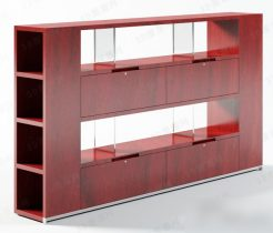 full height modern cabinet 3d model