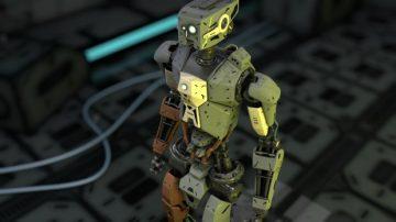 Full rigged robot design