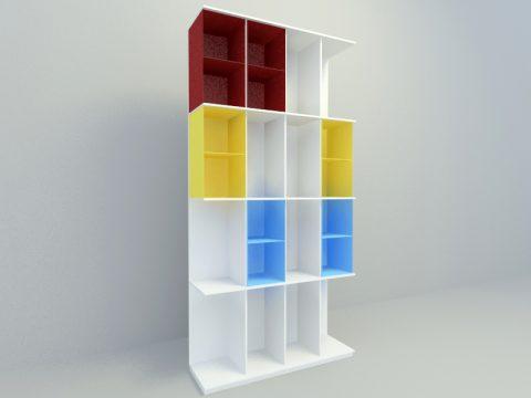 high cabinet 3d model