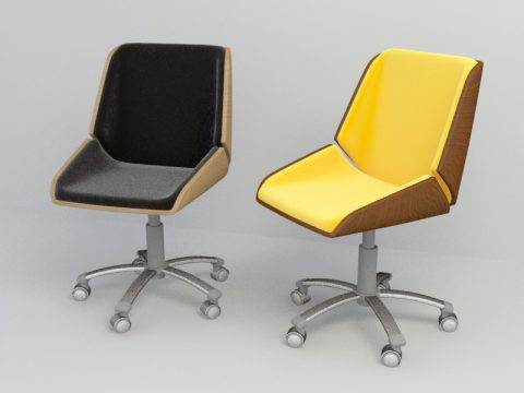 modern office chair 3ds max model