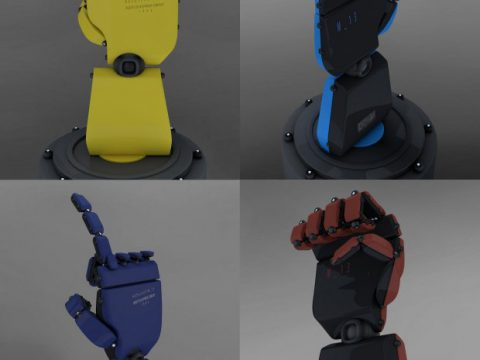 Robot hand movement